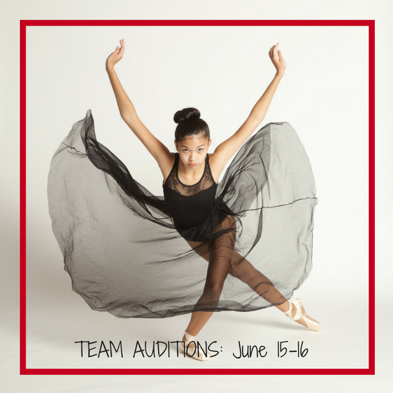 Bellevue dance team auditions June 15-16